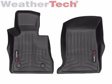 WeatherTech FloorLiner Mats for Chevrolet Camaro - 2016-2019 - 1st Row - Black