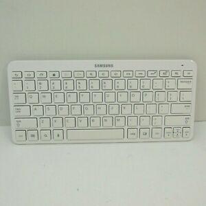 Samsung Galaxy Tab 2 Tablet Wireless Keyboard White BKB-10 A3LBKB-10 Bluetooth