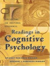 Readings in Cognitive Psychology : Applications, Connections, and Individual Di…