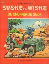 SUSKE EN WISKE 093 - DE SNORRENDE SNOR (VROEGE HERDRUK 1972)