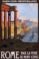 Rome Par La Voie Du Mont Cenis Travel Art Print Poster 24x36 inch