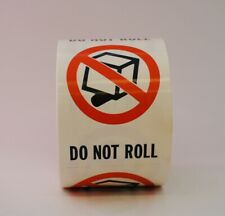 Do Not Roll Labels 3 X 4 500 Per Roll Shipping Label