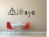 Harry Potter Always Kids Adult Home Wall Decal Sticker Film Room FI1