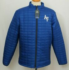 NEW Air Force USAF Blue Colosseum Quilted Puffer Full Zip Jacket Coat Men's L