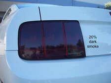 05-09 Ford Mustang Precut Dark Smoke Tail Light Overlay set tint film gt svt