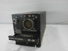 Global Wulfsberg RT-30 VHF Lo Band FLEXCOMM FM Transceiver Allied Signal Avionic