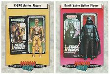 Star Wars Classic Toys Trading Cards C-3PO Darth Vader