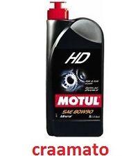 OLIO MOTUL LUBRIFICANTE TRASMISSIONE HD80W90 MINERALE