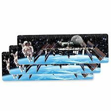 Ruler Bookmark Astronaut Space Station Lenticular Setof3 3D 6 Inch #RU06-405-S3#