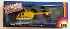 Siku MBB BO 105 1:55 Scale Die Cast Metal Rescue Helicopter in Box, Nice Bo-105!