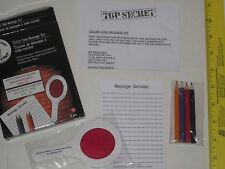 Undercover Spy Gear Color Code Message Kit - Secret, Trick, Writing, Read, Magic