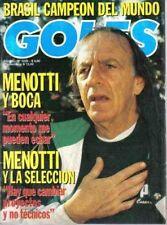 FIFA WORLD CUP 1994 GOLES Magazine FINAL MATCH - Brazil Champion!!