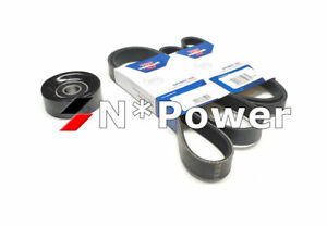 OPTIBELT DRIVE BELT PULLEY SET FOR NISSAN 350Z Z33 Elgrand VQ35DE