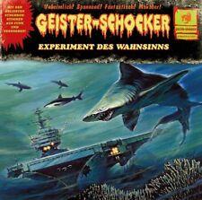 GEISTER-SCHOCKER - EXPERIMENT DES WAHNSINNS (LIMITED) VINYL LP NEU FREEMAN.E.M.