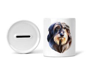 Sparschwein Spardose Sparbüchse mit Dackel Hund Dachshund Teckel Dog Geschenk