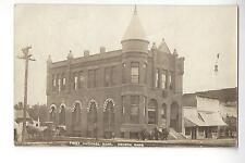 First National Bank, Seneca, Kansas RPPC