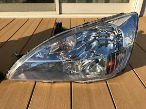 JDM 2003 Honda SABER INSPIRE UC1 ACCORD CM5 Headlight Light Lamp LH OEM