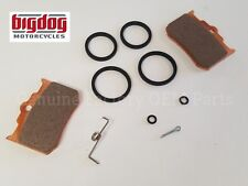 Big Dog Motorcycles Front Caliper Rebuild Master Kit (w/ Brake Pads) 2004-11