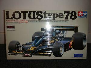 Tamiya 1:12 Lotus Type 78 Plastic Model Kit - New Sealed Box. One left! Rare!