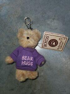 New old stock vtg nwt Boyds Bear hugs Collection -  Bear hugs  Key Chain
