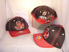 NEW JERSEY DEVILS NHL RED BLACK TEAM MASCOT YOUTH SNAPBACK ADJUSTABLE HAT CAP
