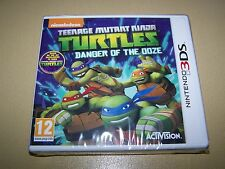 Teenage Mutant Ninja Turtles Danger de la boue pour 3 DS ** NOUVEAU & Sealed **