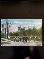 Toronto University, Queens Park Entrance, Toronto, Canada Postcard 1919