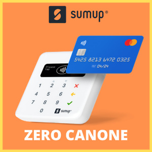 Sumup AIR lettore di carte POS mobile. Lettore carte Bluetooth e Wi-Fi