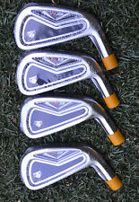 NEW TaylorMade R9 TP IRONS 2, 3, 4, 5 TOUR ISSUE B STAMP HEADS