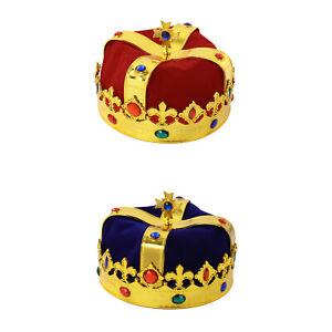 Emperor Hat Plastic Dance Party Dress-up Performance Props King Crown Hat