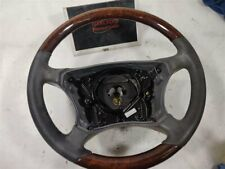 2002 Mercedes-Benz CL55 - Wood Steering Wheel - 2204600503 9C29 - Cracked √ pics