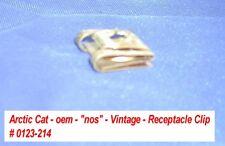 Arctic Cat oem Clip, Receptacle (Console) # 0123-214 Vintage '71 Puma EXT