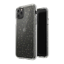 Speck Presidio Clear Premium Phone Case for Apple iPhone 11 Pro Max -Clear/Gold