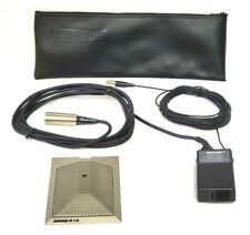 Shure 819 Condenser Unidirectional Microphone w/ Preamp & Case