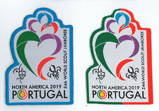 2019 World Scout Jamboree PORTUGAL SCOUTS & IST Contingent Patch SET