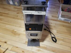 BUNN G9 SERIES DUAL/TWIN HOPPER COMMERCIAL COFFEE BEAN GRINDER MODEL G9-2 HD
