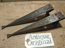 More details for antique wrought iron hinges~pine/oak blanket box/coffer/chest/trunk~