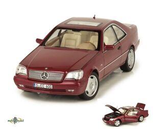 Mercedes-Benz CL 600 Coupe S Class C140 Almandinrot metallic 1:18 Norev