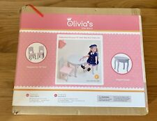 Olivia's Little World - Princess 18inch Doll Furniture Table and Chair Set BNIB