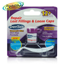 DenTek Temporary Dental Cement Tooth Filling Lost Fillings Repair & Loose Caps