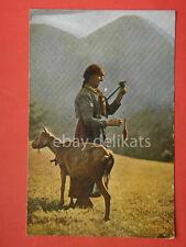 Friuli UDINE vecchia cartolina costume tris