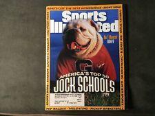 New listing 1997 Georgia Bulldogs Sports Illustrated MASCOT
