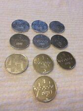 LOT 10 UPPER DECK 1995 MICHAEL JORDAN COINS CHICAGO BULLS ALUMINUM TOKEN COINS
