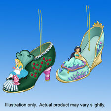 Alice in Wonderland and Jasmine Set 19 Disney 's Once Upon a Slipper Ornaments