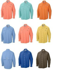 NWT Columbia Sportswear Men's Big-Tall Bahama II Long Sleeve Shirt Gift All Size