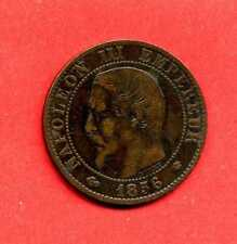 (BR.161) 5 CENTIMES NAPOLÉON III 1856 MA (MARSEILLE (TTB/TB+)