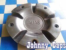 ALIAS Wheels [46] CHROME Center Caps # K21 Custom Wheel Center Hub Cap (1)