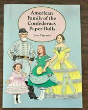 Vintage American Family of the Confederacy Paper Dolls, Uncut