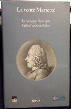 La Vente Mariette Le Catalogue Illustre Par Gabriel de Sait Aubin Electa MFA