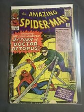The Amazing Spider-Man #11 (Apr 1964, Marvel) Low Grade 2nd Dr. Octopus